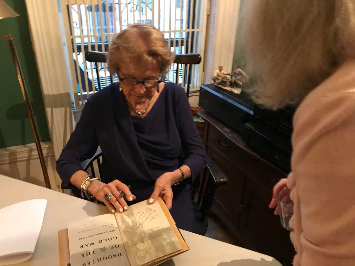 Grace Signing Book