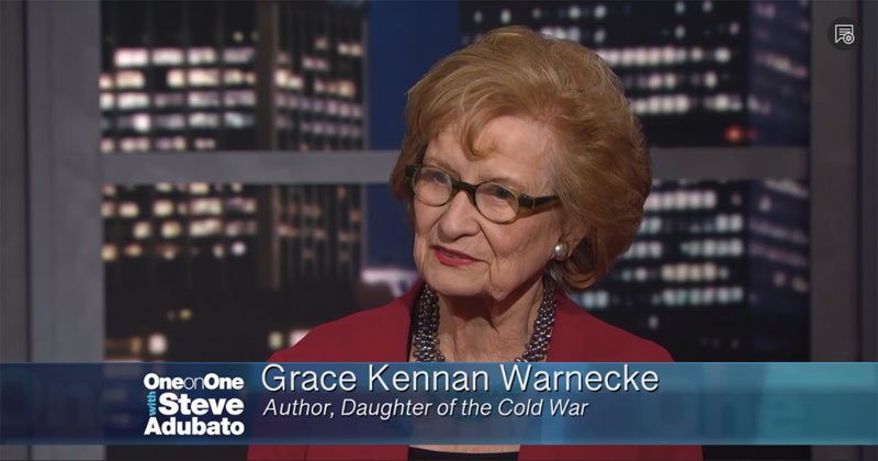 ONE-ON-ONE - Grace Kennan Warnecke Interview